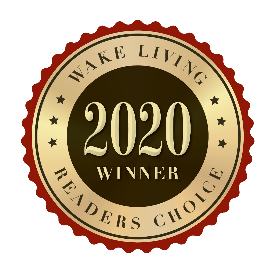 2020 Wake Living Readers Choice Winner Award